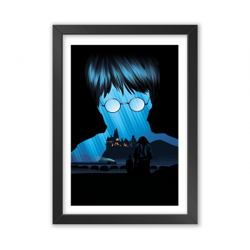 Quadro Decorativo Harry Potter | A Pedra Filosofal