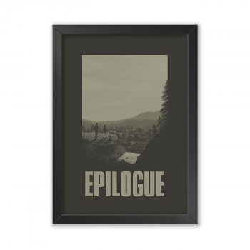 Quadro Decorativo The Last Of Us | Epilogue