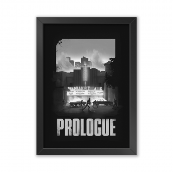 Quadro Decorativo The Last Of Us | Prologue