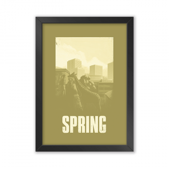 Quadro Decorativo The Last Of Us | Spring