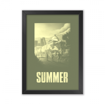Quadro Decorativo The Last Of Us | Summer