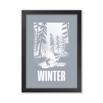 Quadro Decorativo The Last Of Us | Winter